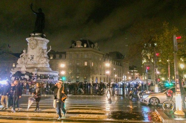 Paris fotografert 19. november 2015, en liten uke etter de fatale terrorangrepene i byen.