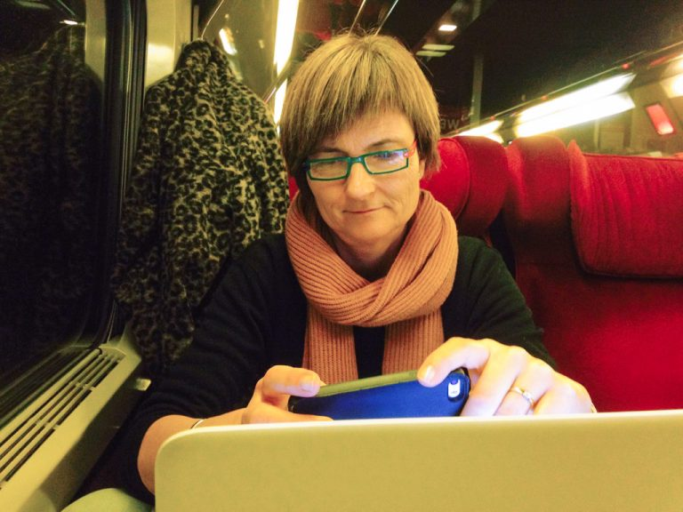 De første linjene av denne bloggposten skrives ombord på Thalys fra Køln til Paris.