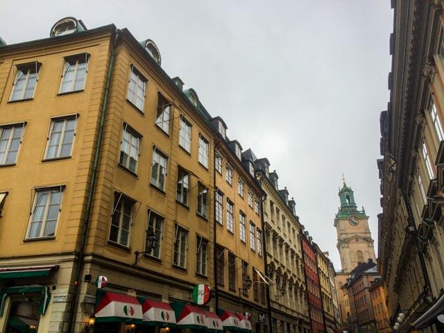 Vi har kommet til Stockholm med SJs morgentog fra Oslo S. Godt gjensyn med fin by.