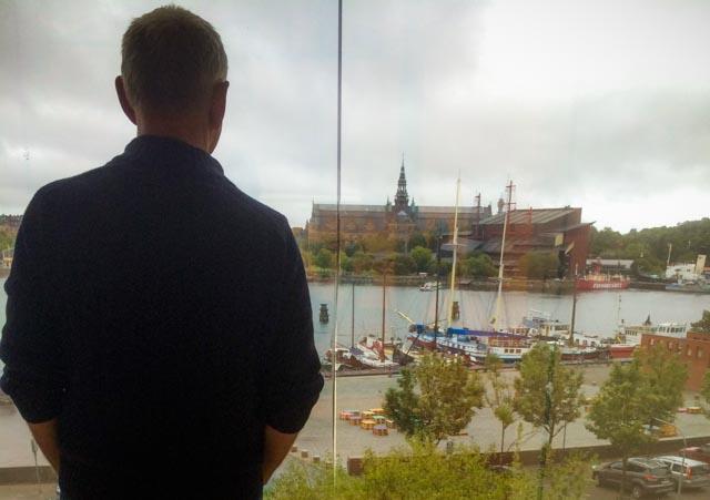Utsikt fra Moderna Museet, Stockholm.