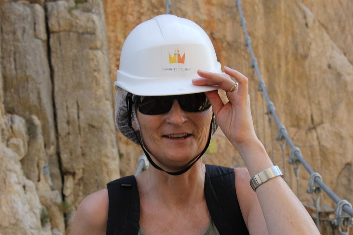 Hjelm er blitt påbudt for alle som vil gå Caminito del Rey.