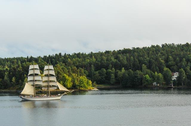 Fin seilas i Stockholms skjærgård for flere enn oss.