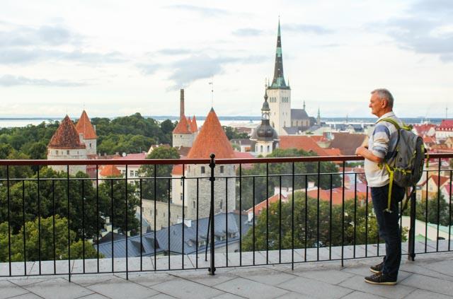Fin utsikt over Tallin!