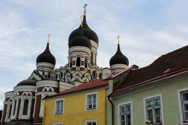 Aleksander Nevskij katedralen er et sikkert landemerke i Tallin.