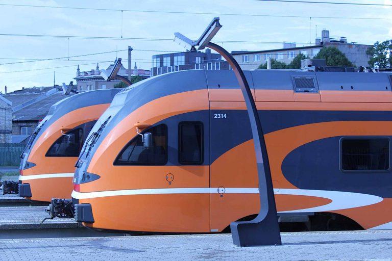 Estland holder seg med moderne, gode tog.
