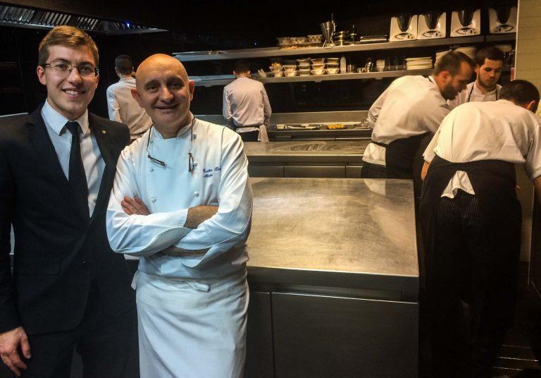 Her er en av grunnene til at vi gikk av toget i Caceres: Le Chef Tono Perez og hans Restaurante Atrio.