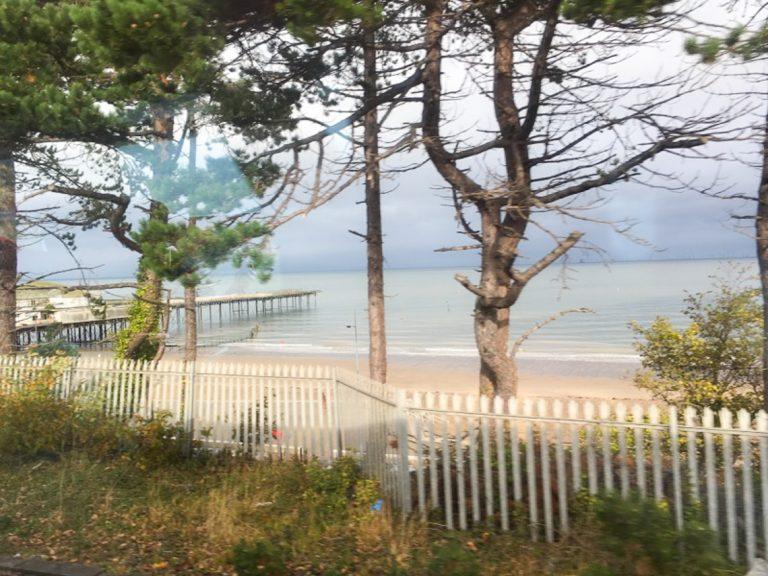 Sommerkyst i novembermodus./Summer coast preparing for wintertime.