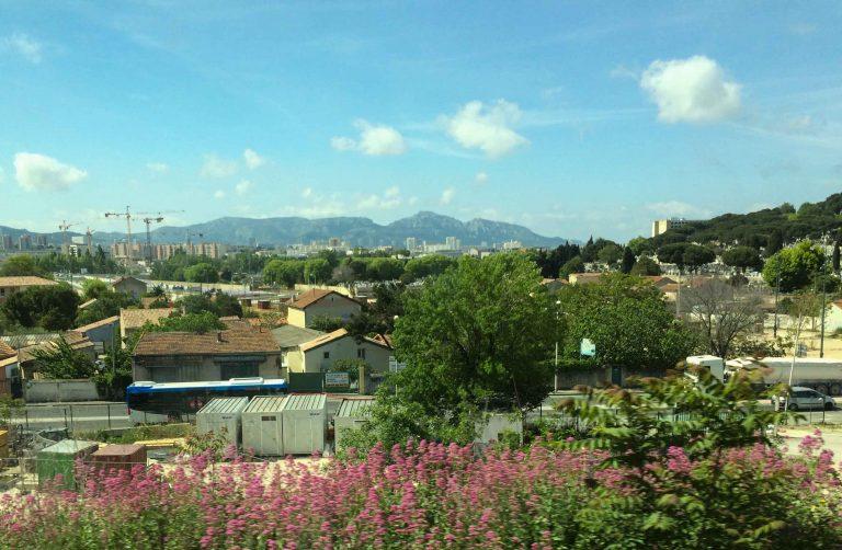 Morgentoget fra Nice ankommer Marseille.