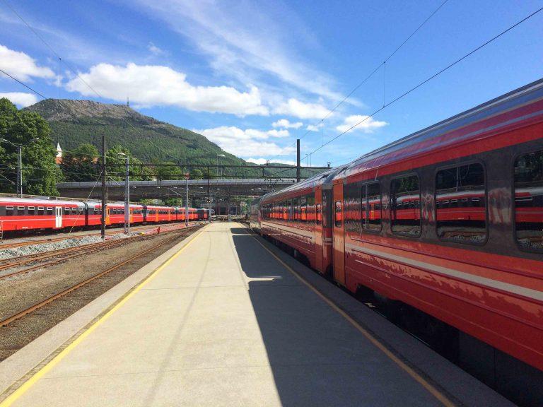 Bergensbanen har kommet frem til Bergen.