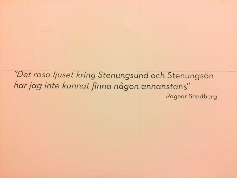 """Fra utstillingen """"Göteborgskoloristerna"""", Bohusläns Museum, Uddevalla."""