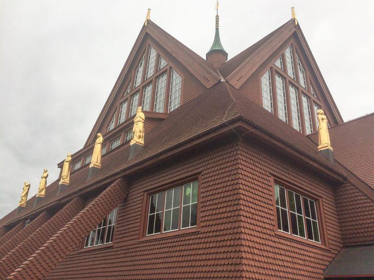 Kiruna kirke, omtalt som Sveriges vakreste
