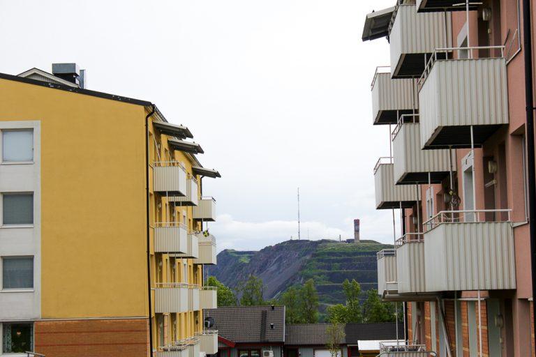 By og gruve, Kiruna.