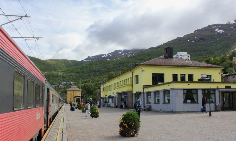 Narvik stasjon, endepunkt for Ofotbanen.
