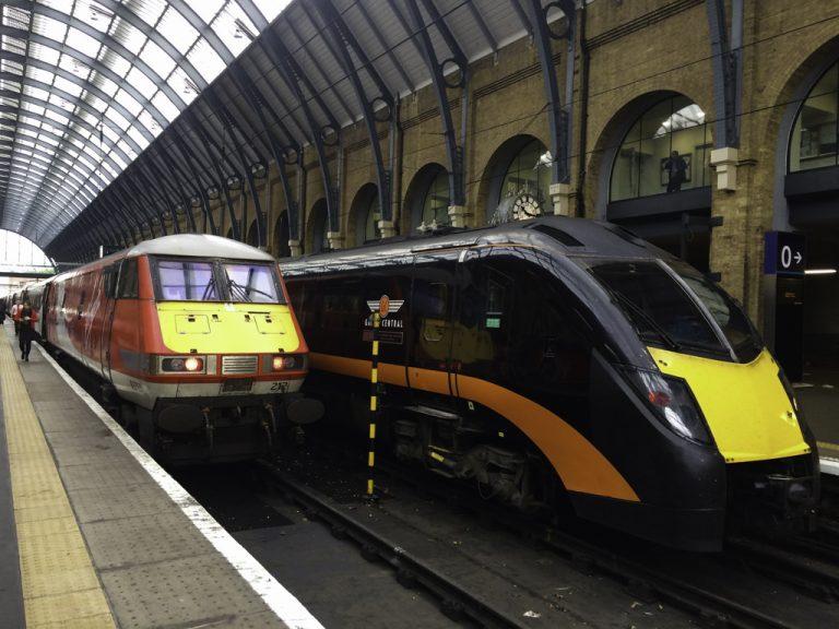 Reisen til Belfast starter fra London Kings Cross.