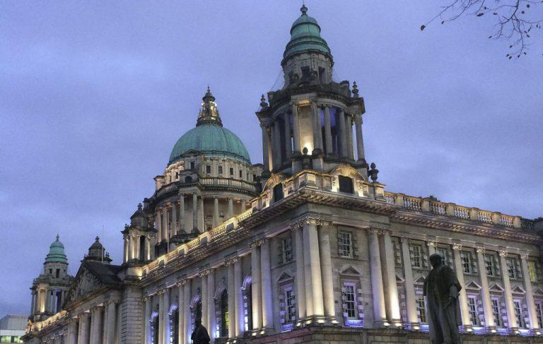 Belfasts fantastiske rådhus.