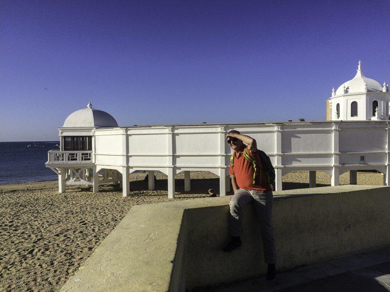 Her på Playa de la Caleta i Cadiz kom Halle Berry opp av havet i James Bond-filmen Die Another Day.