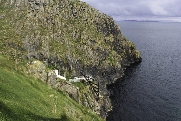 Hengebroen var opprinnelig bygd for å bringe fiskere ut til trygg båthavn.