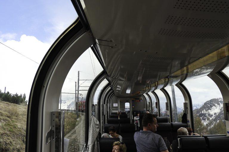 Panoramatoget Bernina Express er ikke helt som andre tog.