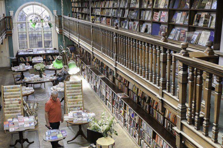 Daunt Books, Marylebone High Street, London.