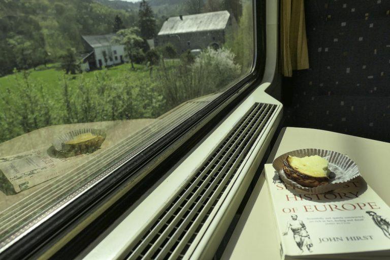 En fin formiddag med tog gjennom belgiske Vallonia