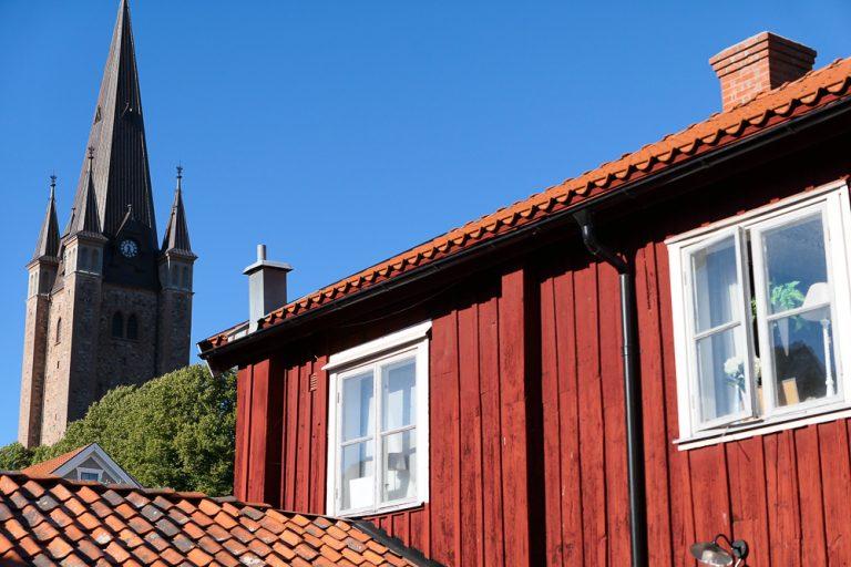 Gamlebyen i Mariestad, en av Sveriges best bevarte.