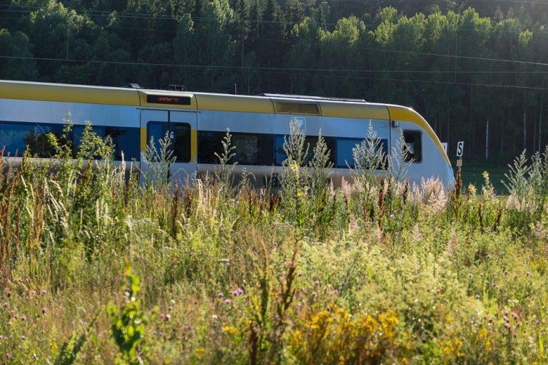 Vi startet vår reise med Bohusbanan fra Tanum stasjon.