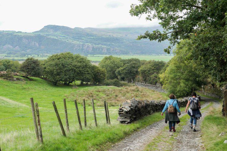 Tredje dag på reisen: Ut og gå på Coast Path Wales.