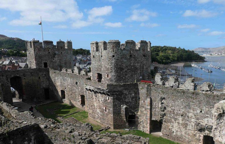 Conwy Castle - på UNESCOs verdensarvliste med god grunn.