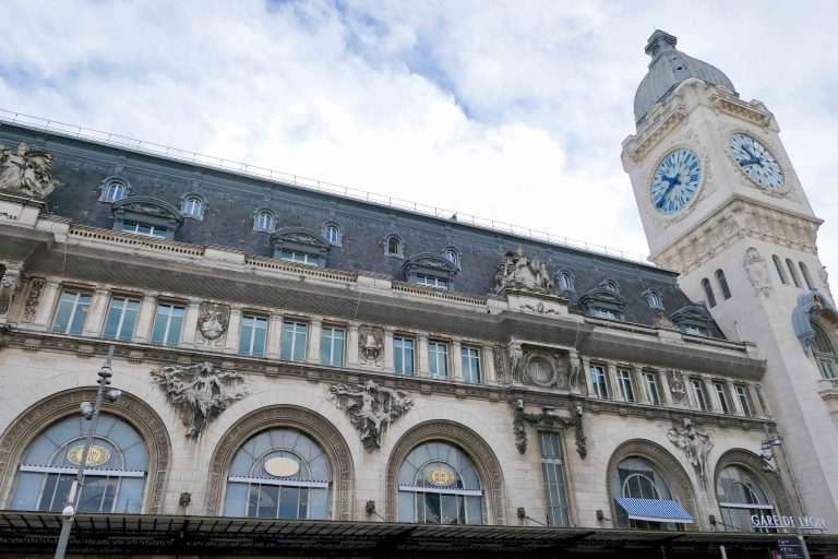Gare de Lyon i Paris.
