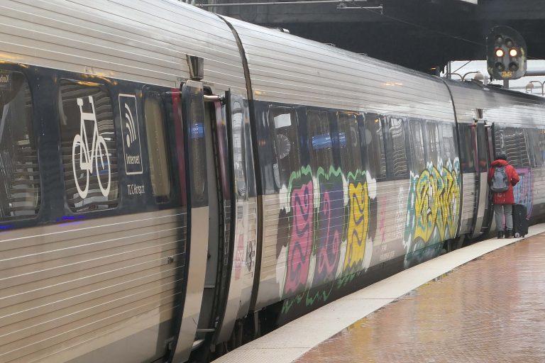 Toget fra København til Hamburg. Nå er det Europa neste!