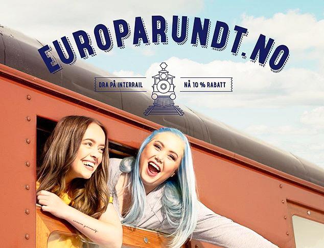 Interrail markedsføres mer aktivt enn noen gang! Her er bloggerne Sara Høydahl og Agnete Husebye på togferie med Europarundt.no.