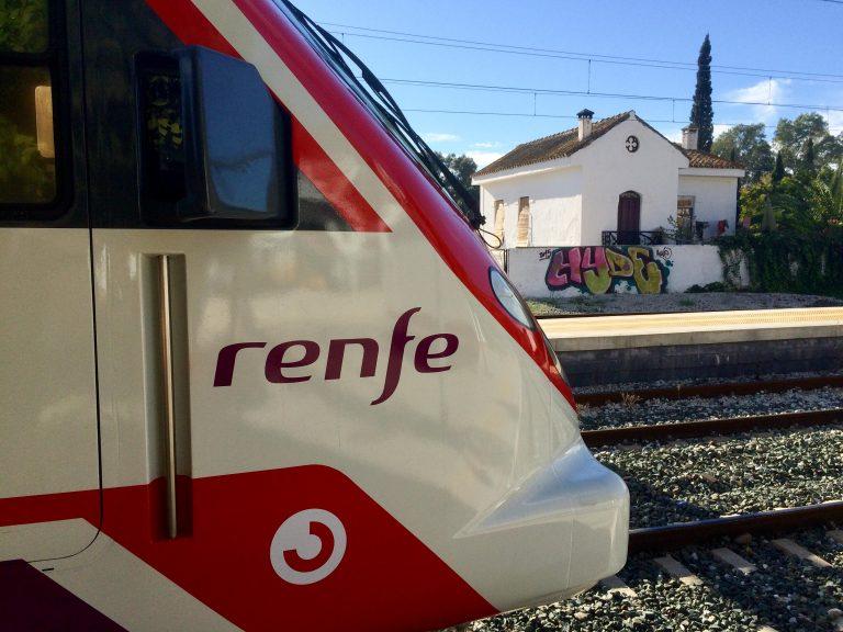 Renfes lokaltog fra Malaga har lille Alora som siste stopp.