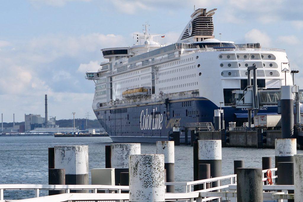 Vi valgte båt for tog til Tyskland denne gangen. Det ble en fin overfart med Kielfergen fra Oslo.