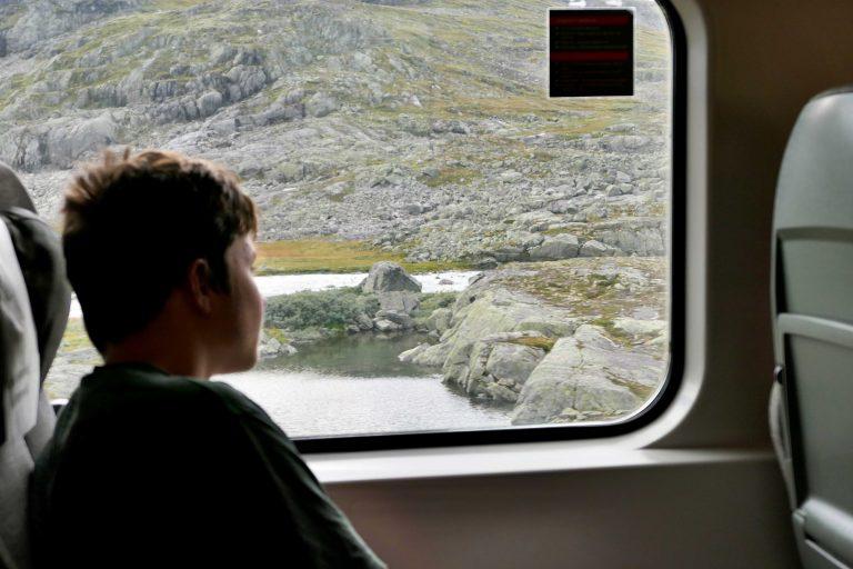 Bergensbanen er utropt av Lonely Planet og mange andre som en av de fineste togreisene i Europa. Nå ser vi det selv.