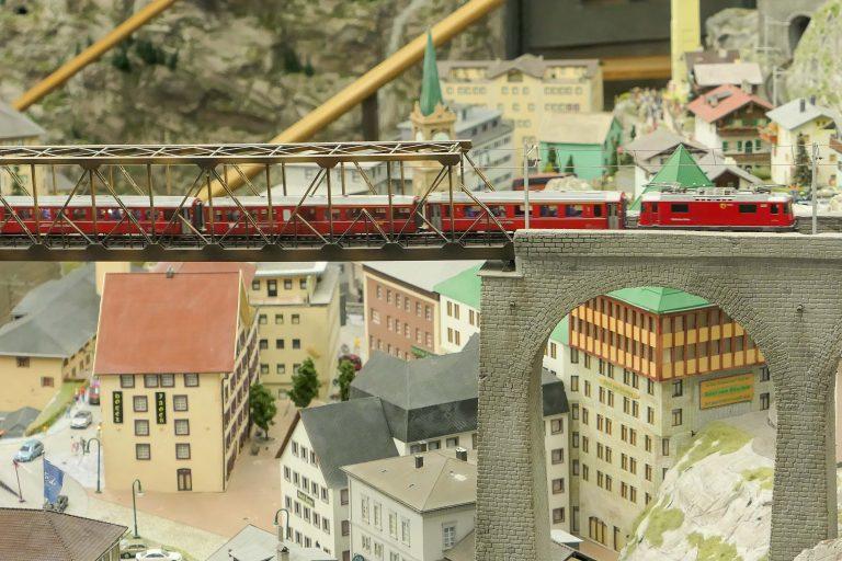 Foto fra Miniatur Wunderland i Hamburg.