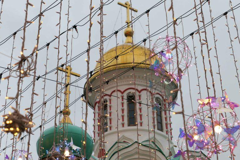 Førjul i Moskva: Gammelt gull. Glitter og stas.