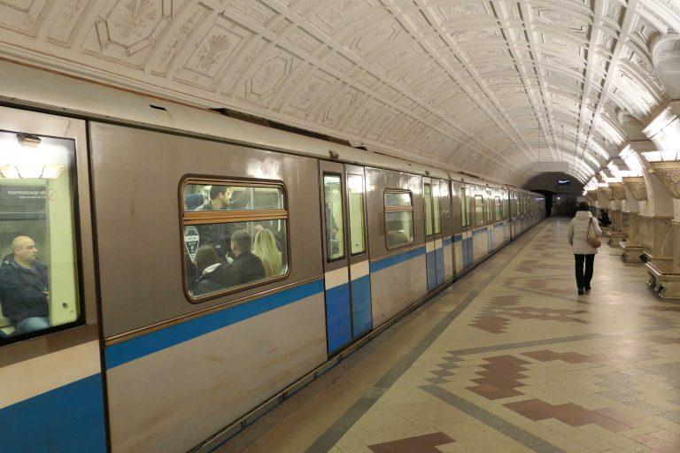 Metroen i Moskva! Så vakker, så effektiv, så billig!