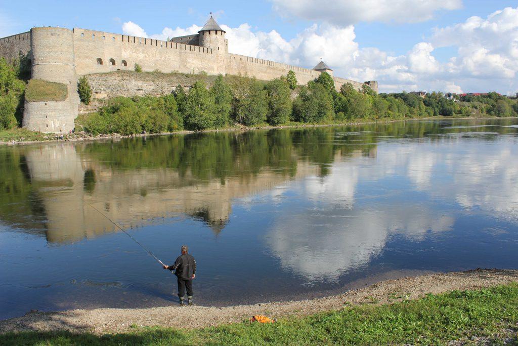 Foto fra Narva i Estland, brukt som illustrasjon til bloggpost om nyheter for Interrail 2020.