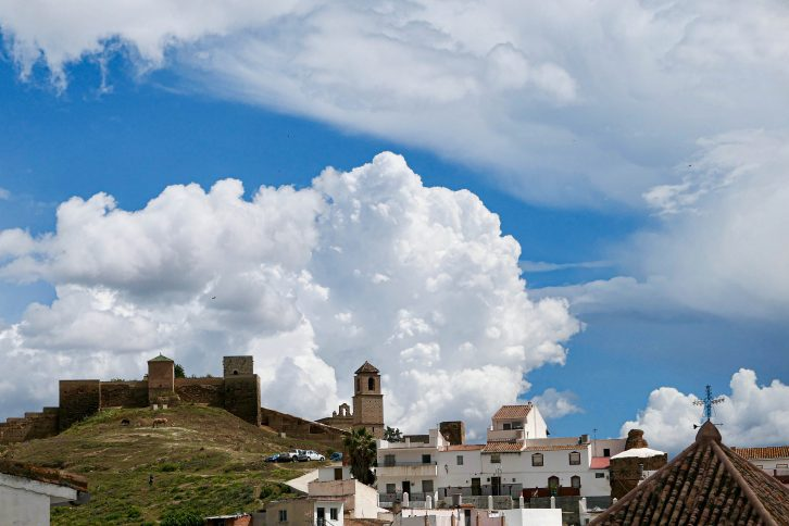 Bildet viser Alora. Det er hit jeg skal når jeg reiser fra Oslo til Malaga med tog.