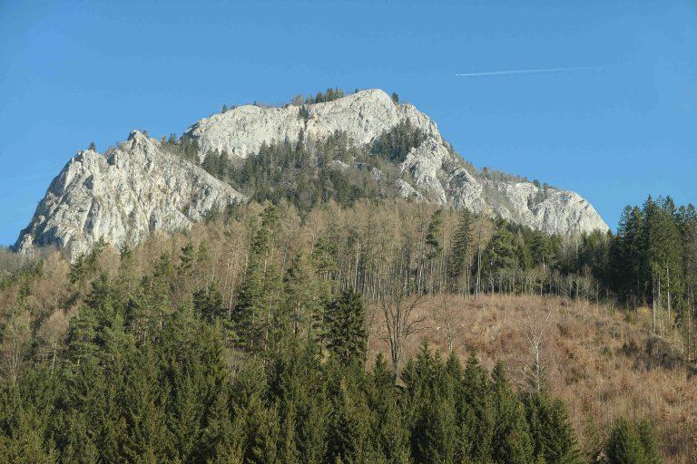 Utsikt underveis, på reisen fra Wien til Ljubljana.