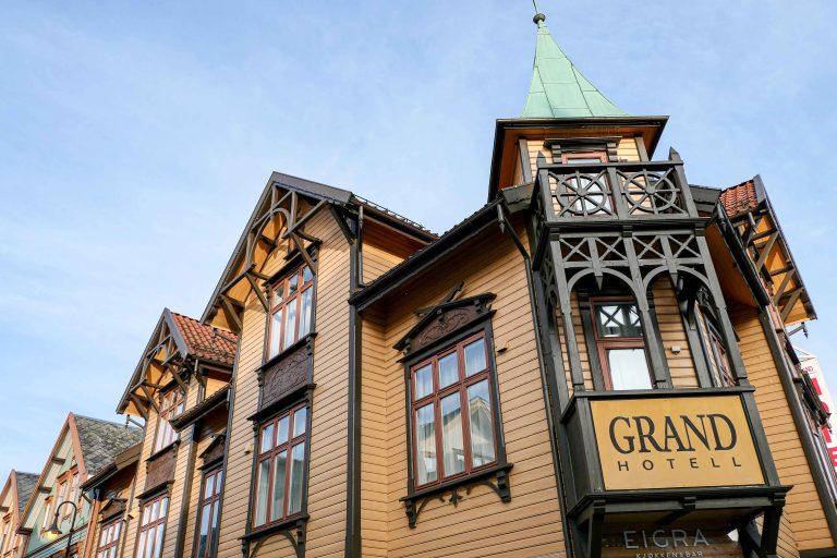 Grand Hotell Egersund er ikke bare et hotell, men et helt hotellkvartal.