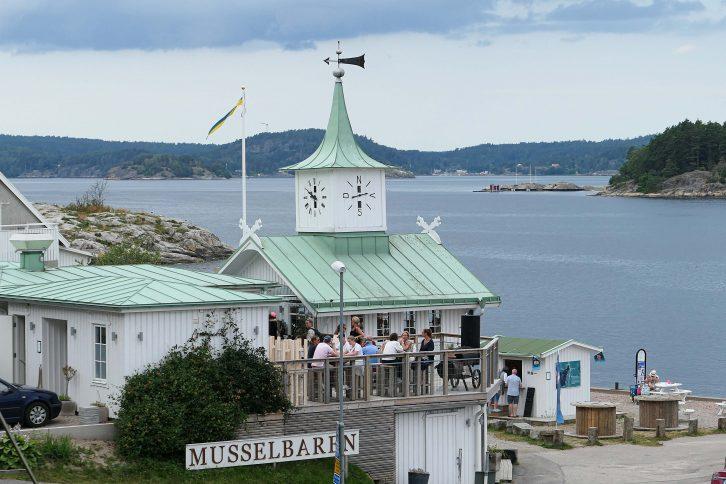Musselbaren i Klocktornet på Lyckorna i Ljungskile ble utropt til reisemål for årets sommertur med tog – og den innfridde.